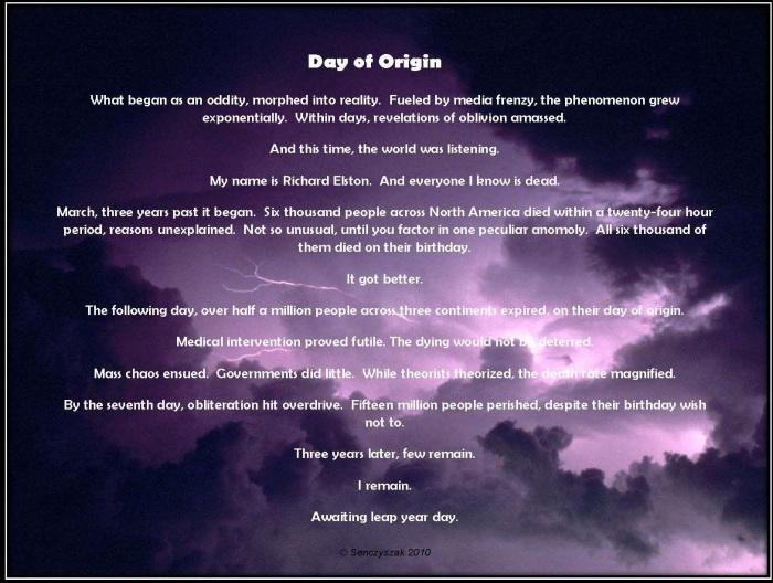 Day of Origin - Senczyszak