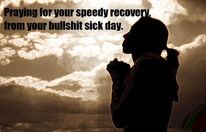 bullshit-sick-day